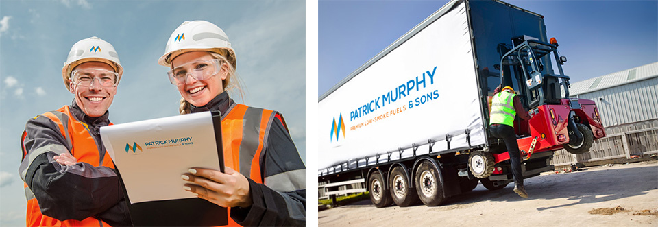 Buy solid fuels, lpg gas and firewood in Cork from Patrick Murphy & Sons Fuels depot